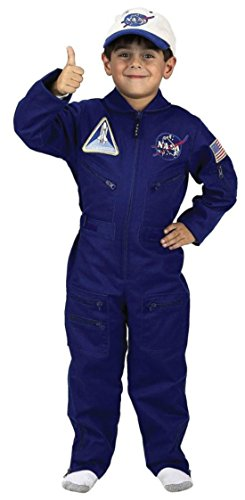 Jr. Flight Suit Costume - (Jr Flight Suit Kids Costumes)