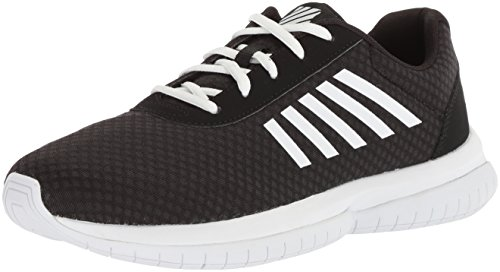 K-Swiss Womens Tubes Infinity CMF Fashion-Sneakers Black/White/White