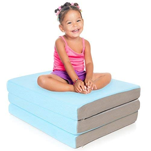 Milliard Toddler Nap Mat Tri Folding Mattress with Washable Cover (24 inches x 57 inches x 3 inches) 2