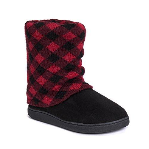 MUK Women's Slippers LUKS Raquel Red Dark Red PPrUqW