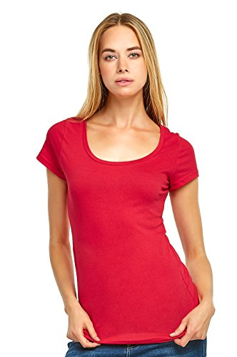 Teejoy Womens Fitted Cotton T Shirt