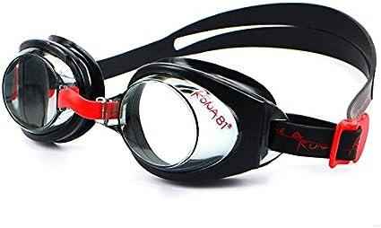 Barracuda KONA81 Gafas de Natación Goggles Triatlón Miopía Óptico Graduado Antiniebla Protección UV Anti-Rotura Niño 7-15 años #71295 (-2.5)