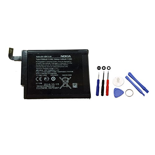 OEM Original Battery BV-4BW BV4BW for Nokia Lumia 1520 with Tool Kit included- Non Retail Packaging