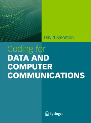 Coding for Data and Computer Communications [Salomon, David] (Tapa Blanda)