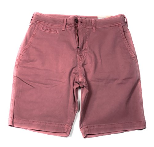 American Classic Rose - American Eagle Men's Extreme Flex Classic Flat Front Short 6374 (685 Dusty Rose, 32)