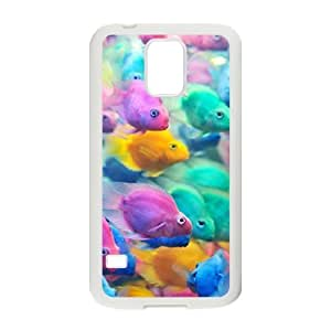 Colorful fish ZLB606780 Personalized Case for SamSung Galaxy S5 I9600, SamSung Galaxy S5 I9600 Case