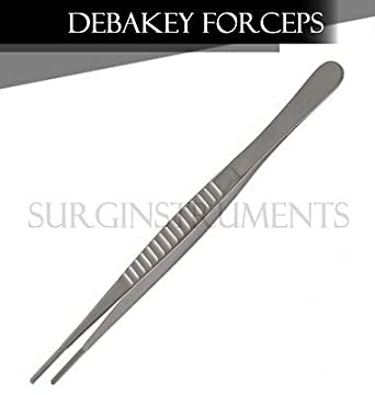 Amazon com: DeBakey Atraumatic Artery Forceps Clamp 8