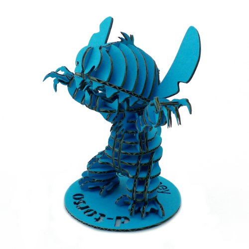 d-torso Papercraft Kit - Stitch 095 Blue | Disney Licensed (Japan Import)