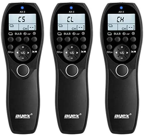 Timer Fernauslöser Ayex Ax 3 Für Nikon Z7 Z6 D7500 Kamera