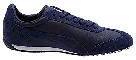 Puma 76 Runner Fun Men's Shoes Sneakers Size US 8.5 Peacoat / Peacoat 359715 03 (Mens Puma 76 Runner)
