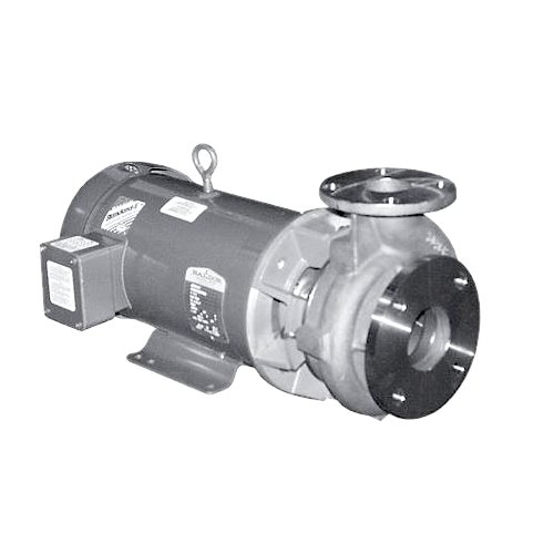 MP Pumps 31944 Chemflo 6 End Suction Centrifugal Pump 316 Stainless Steel, Pump Pack, Closed Couple 215TC, 5.6