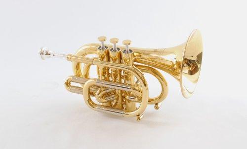 Schiller CenterTonePocket Bb Trumpet - Gold Lacquer by Schiller