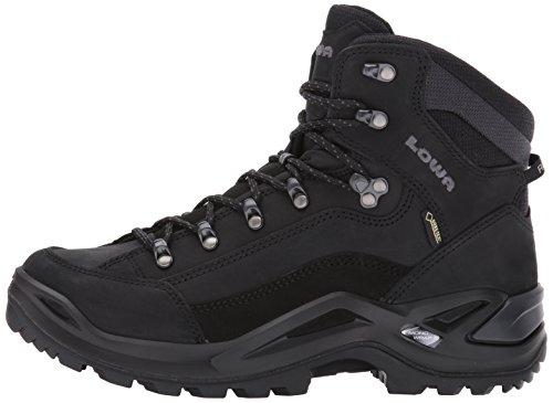 Lowa Men's Renegade GTX Mid Hiking Boot,Black/Black,13 M US