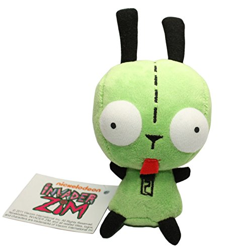 D-Khaleesi Alien Invader Zim Gir Dog Figure Animal Toys Plush Doll 5 inches Xmas ()