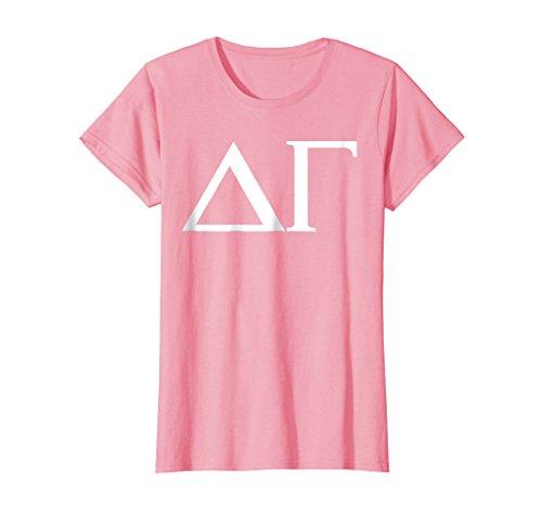 (Womens Delta Gamma Shirt College Sorority Fraternity Tee XL Pink)
