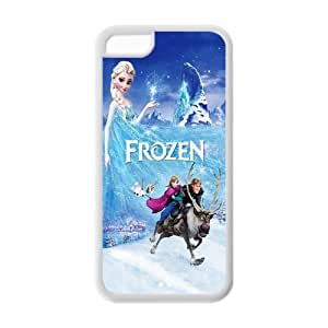 Customize Frozen Snowman Back Cover Case Suitable for iphone 5C JN5C-1271