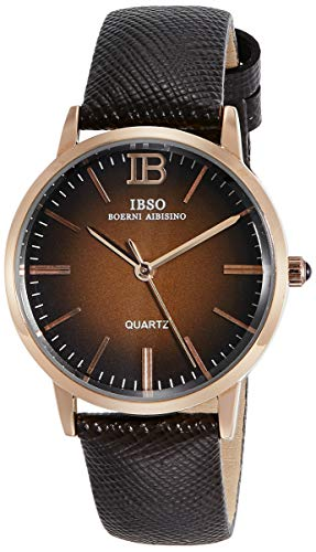 IBSO Analog Brown Dial Women #39;s Watch   S3803lbr