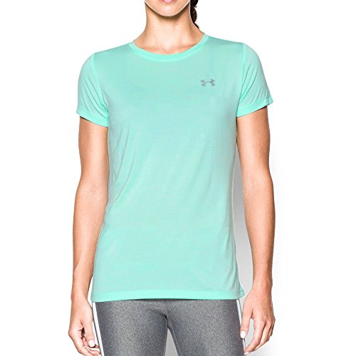 Under Armour Women's Tech Twist T-Shirt, Crystal (960), Large