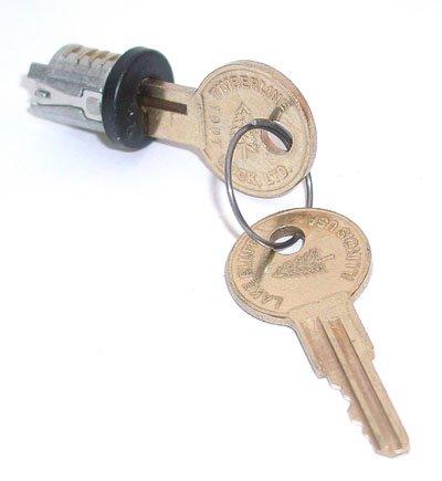 Compx Timberline Lock Plug, C300LP-100TA-19 Black Keyed Alike Key Number 10