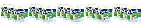 Charmin QOxWir Sensitive Toilet Paper, Mega Roll,Bath Tissue, 5 Pack of 18 by Charmin