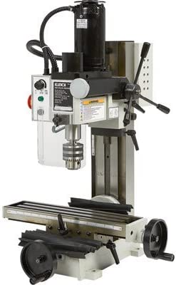 Klutch Mini Milling Machine – 350 Watts, 1 2 HP, 110V