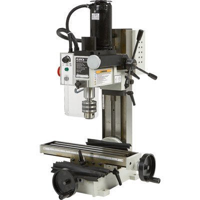 (Klutch Mini Milling Machine - 110V, 350 Watts, 3/4)