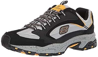 Skechers Mens Stamina Cutback Black Size: 6.5