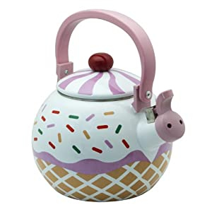 Strawberry Cupcake Tea Kettle