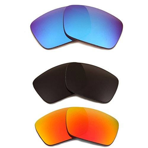 Best SEEK Replacement Lenses Oakley FUEL CELL Polarized Silver Red - Oakley Cheap Sunglasses Cell Fuel
