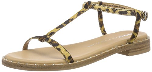 outlet recommend genuine for sale Bronx Women's Bx 1465 Bthrillx T-Bar Sandals Multicolour (Leopard 149) cheap pay with paypal i98ouWvxWh