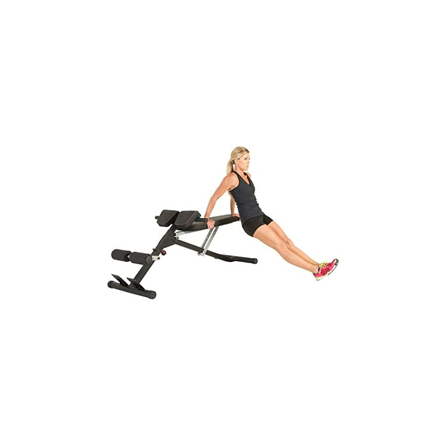 Fitness Reality X Class Light Commercial Multi Workout Abdominal/Hyper Back Extension Bench