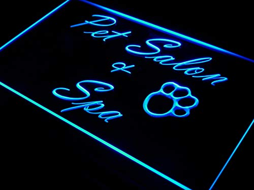 - ADVPRO Pet Salon & Spa Dog Grooming LED Sign Neon Light Sign Display i593-b(c)