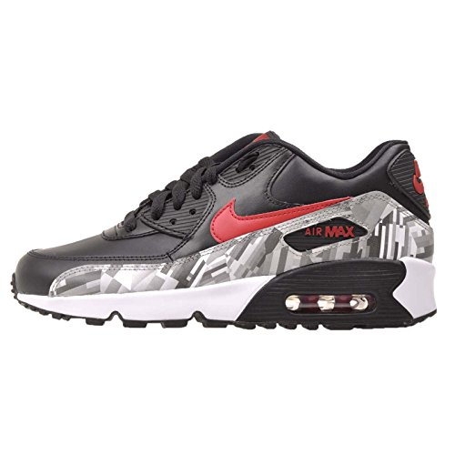 Nike de grey Air Max Zapatillas 90 deporte Black 2007 Red rgwrP