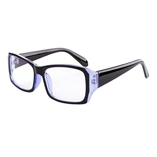 UV400 de Negro Computadora Mujer fatiga Gafas ojos Filtro Moda Eyewear Xinvision Azul Previniendo Lente Anti azul luz Claro Hombre los xw6CFHf