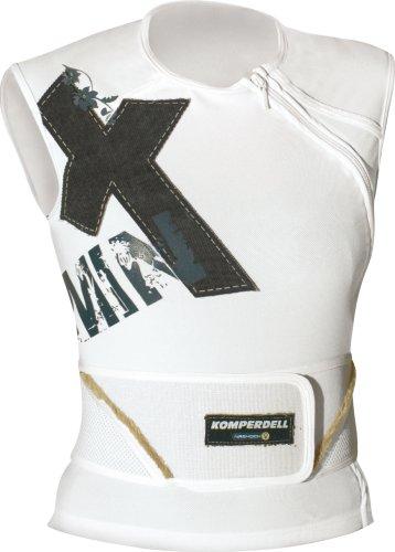 Komperdell Minx Girlz Veste de protection avec ceinture Blanc