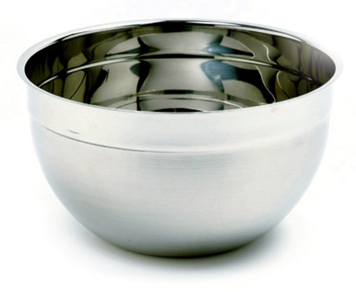 Norpro 5-Quart Stainless Steel Bowl, 9.5-Inch