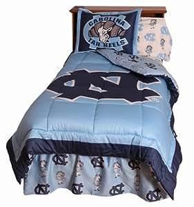 Amazon Com North Carolina Tar Heels 3 Piece King Size