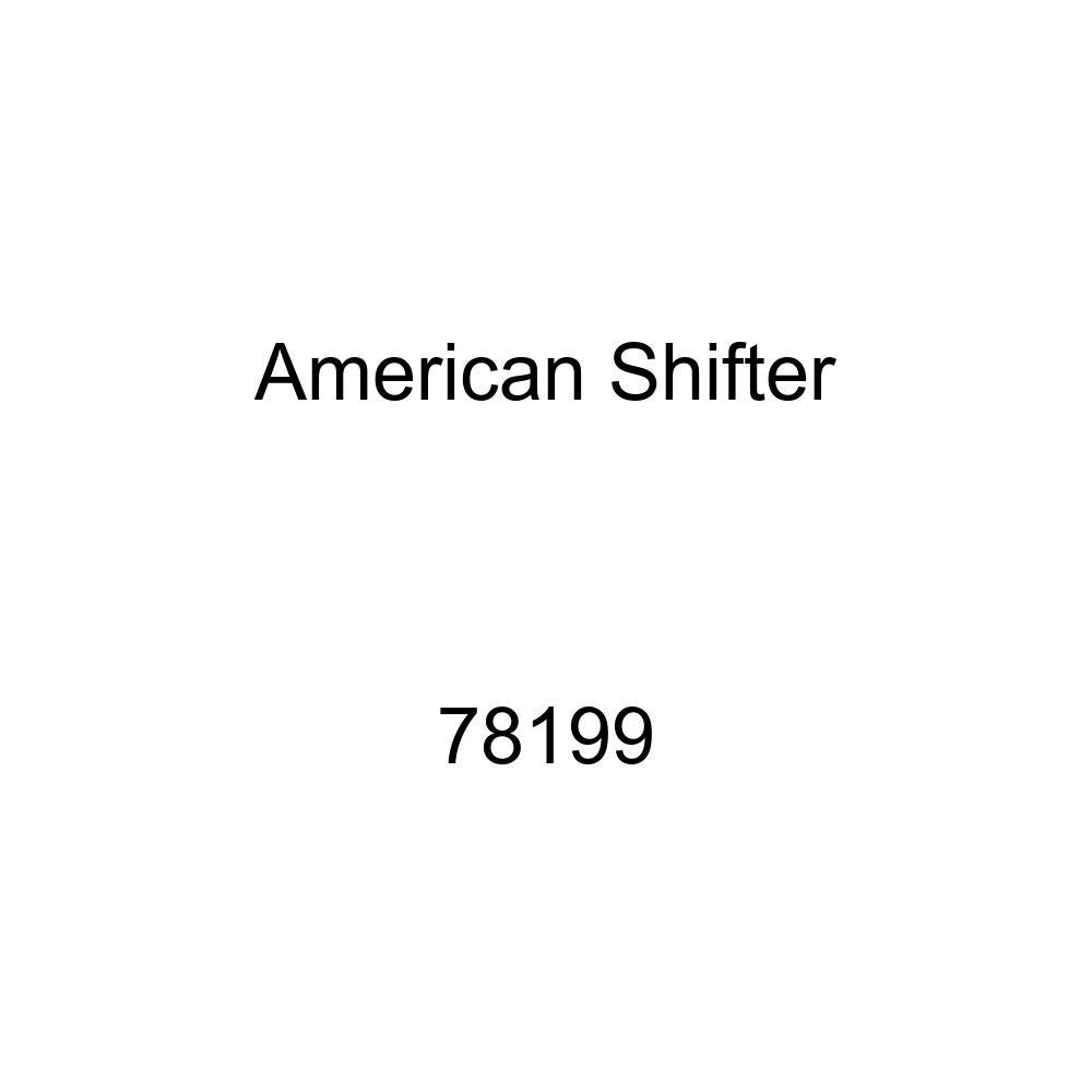 American Shifter 78199 Black Metal Flake Shift Knob with M16 x 1.5 Insert Orange Shift Pattern Fcking Fast Style 41n