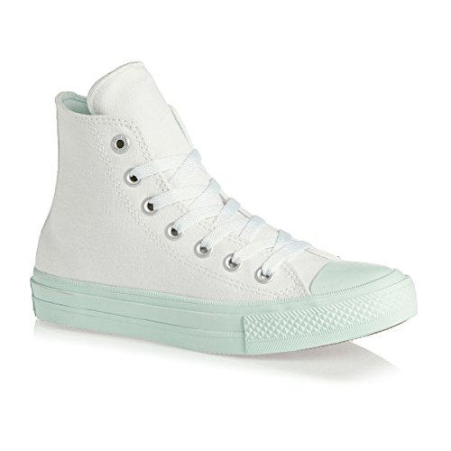 Unisex White Alto Adulto Collo Blue a Star II All Sneaker Converse zq0f4f