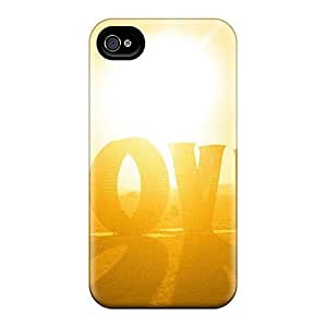 Hot Fashion UOUJDIZ156WsdIk Design Case Cover For Iphone 4/4s Protective Case (love At Burning Man Nevada)