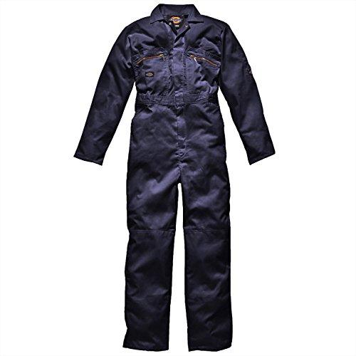 Dickies Redhawk con cremallera para Regular/trabajo para hombre Azul