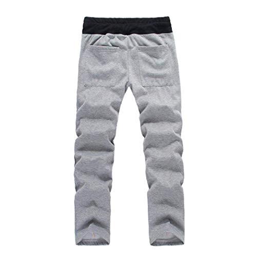 Hombres Capucha Saoye Chaqueta Los Casual De De Abrigo Invierno Chaqueta Fashion Pantalones Pantalón Chaqueta con De De Abrigos Grau Pantalón Ropa Invierno SrS7Yq