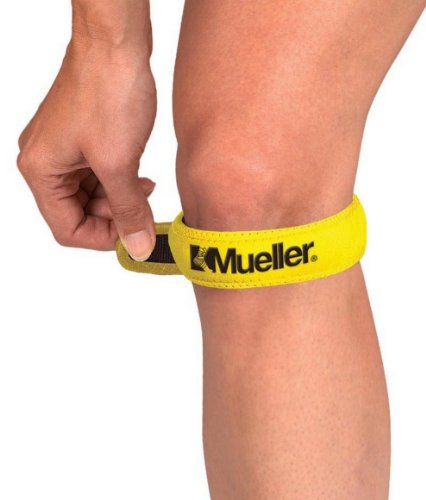 Mueller Jumpers Knee Strap, Gold, One Size Fits Most (Pack of 1)