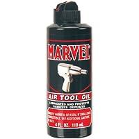 Marvel Air Tool Oil MM080R - 4 oz. Black Bottle