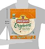 Mission Organics Flour Tortillas, Non GMO, Trans