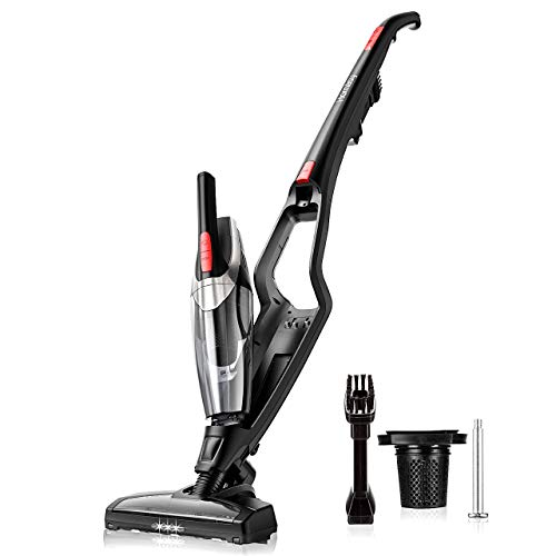 Homasy Upright Cordless Vacuum Cleaner, 2-in-1