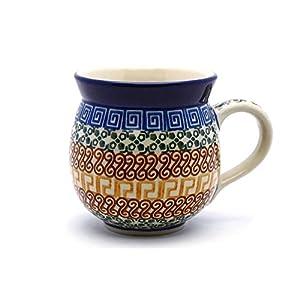 Polish Pottery 16 Oz. Bubble Mug – Autumn Ceramika Artystyczna