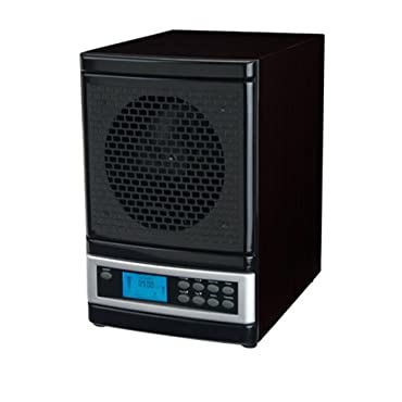 MicroLux ML4000D 7-Stage UV Ion Air Purifier with Remote, Black Finish