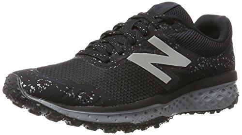 Nuovo Equilibrio Mens Ammortizzazione Scarpa Da Trail Running 620v2 Nero / Argento