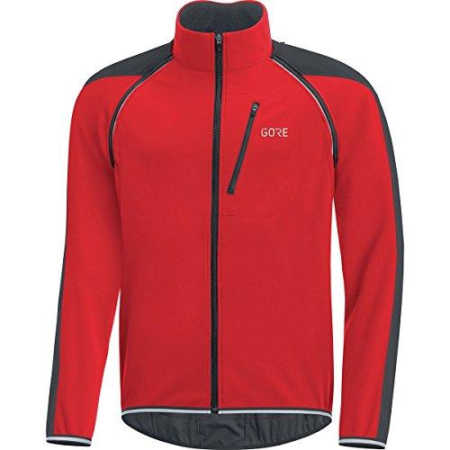 Gore Men's C3 Gws Phantom Zo Jacket,  red/black,  XXL from GORE WEAR